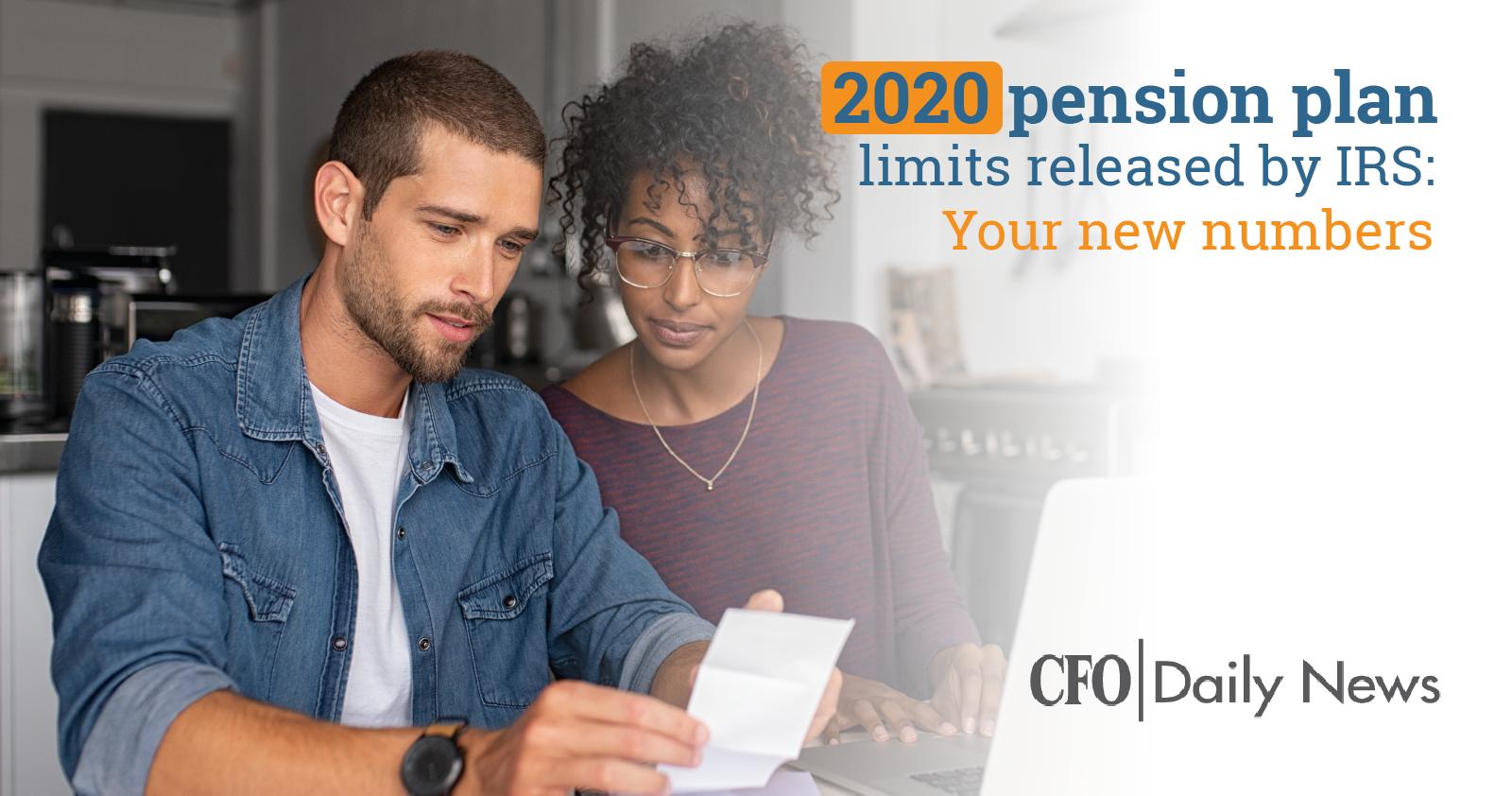 2020 Pension Plan Limits