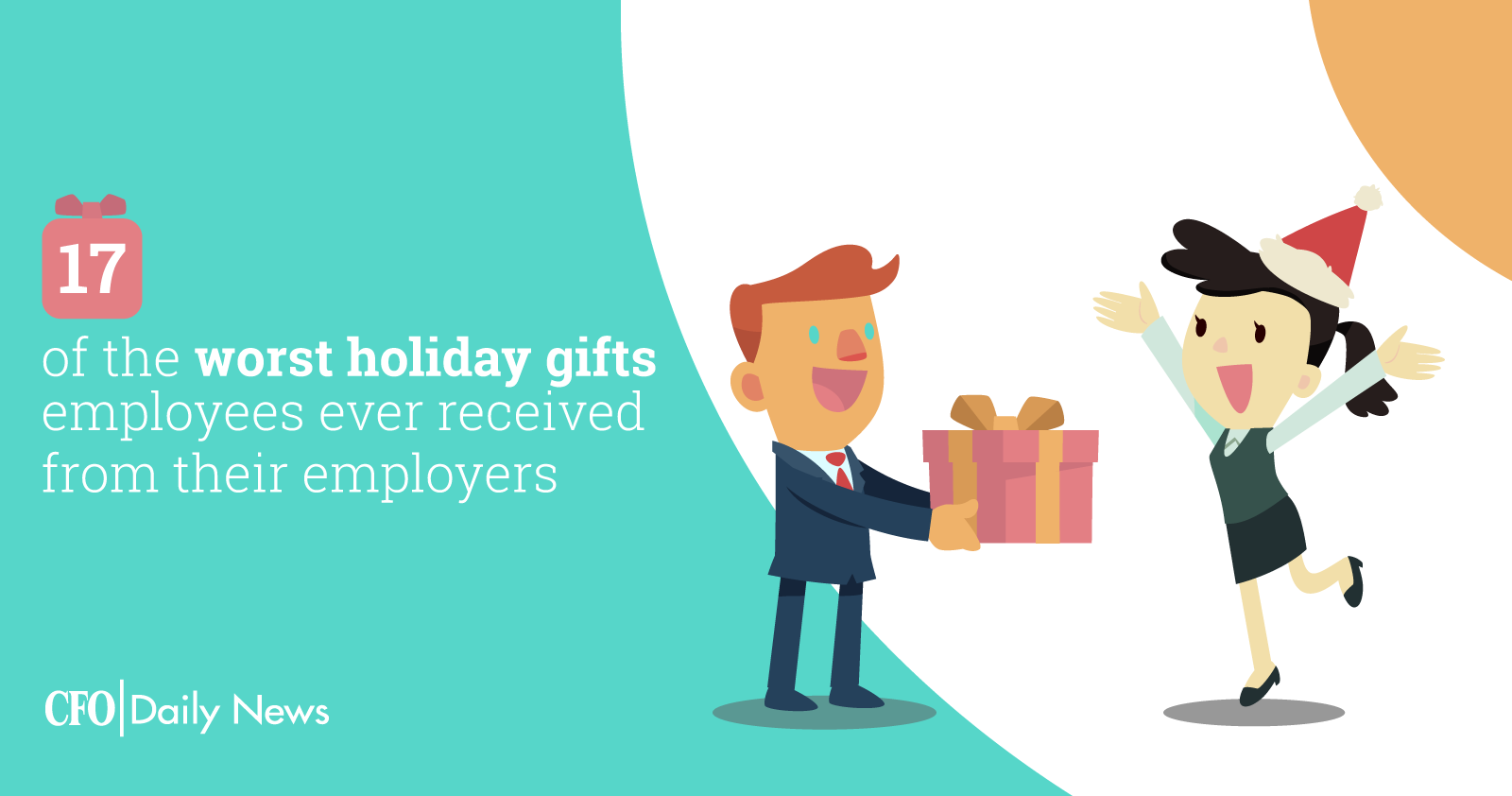 17 worst holiday gifts employees receive from their employers