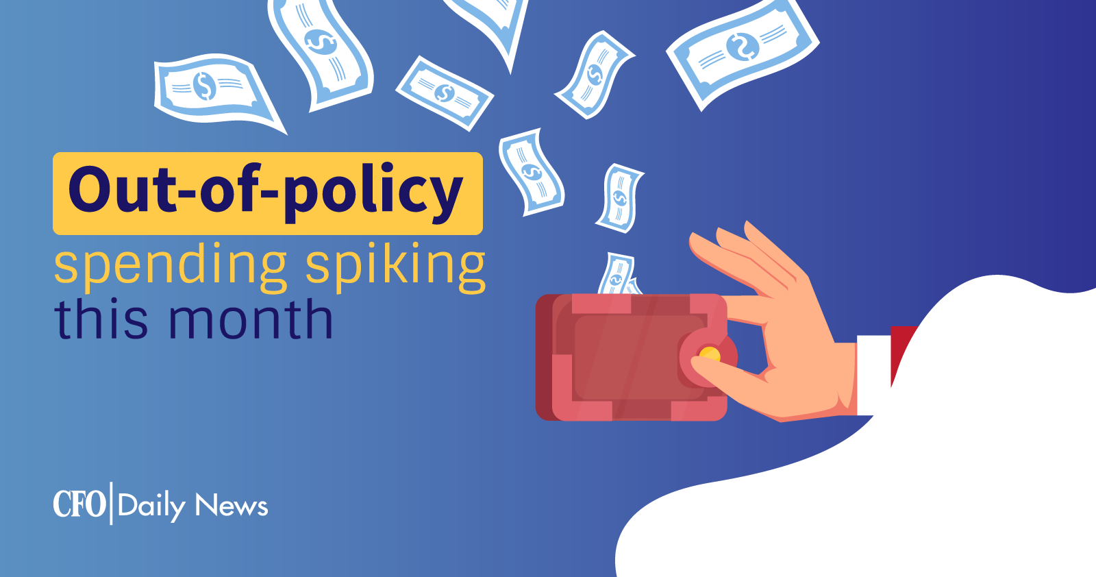 Out-of-policy spending spiking
