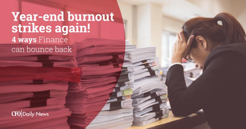 Year-end burnout strikes again