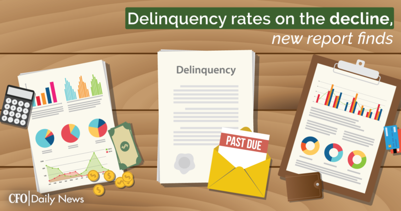 delinquency rates on the decline new report finds