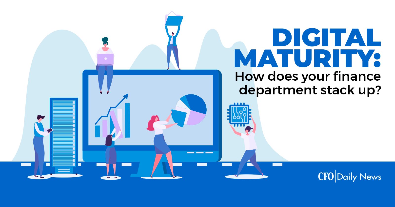 digital maturity how does your finance dept stack up