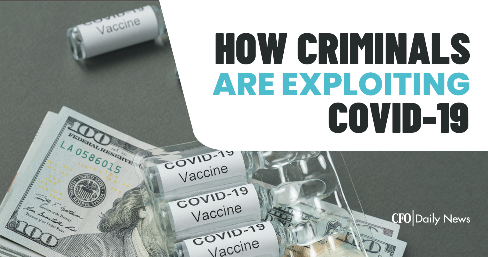how criminals are exploiting COVID-19