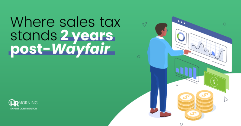 where sales tax stands two years post wayfair