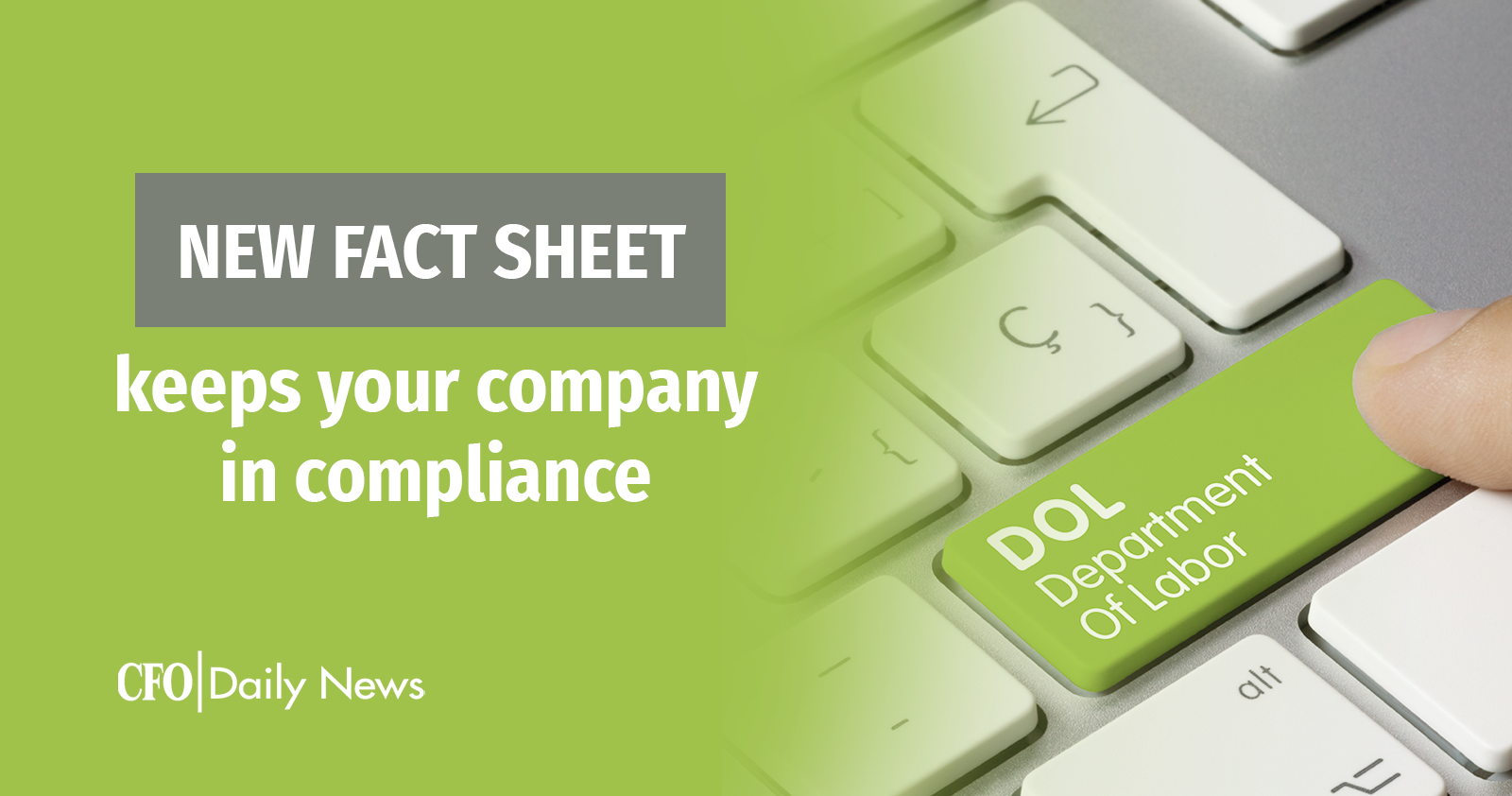 new fact sheet keeps your company in compliance