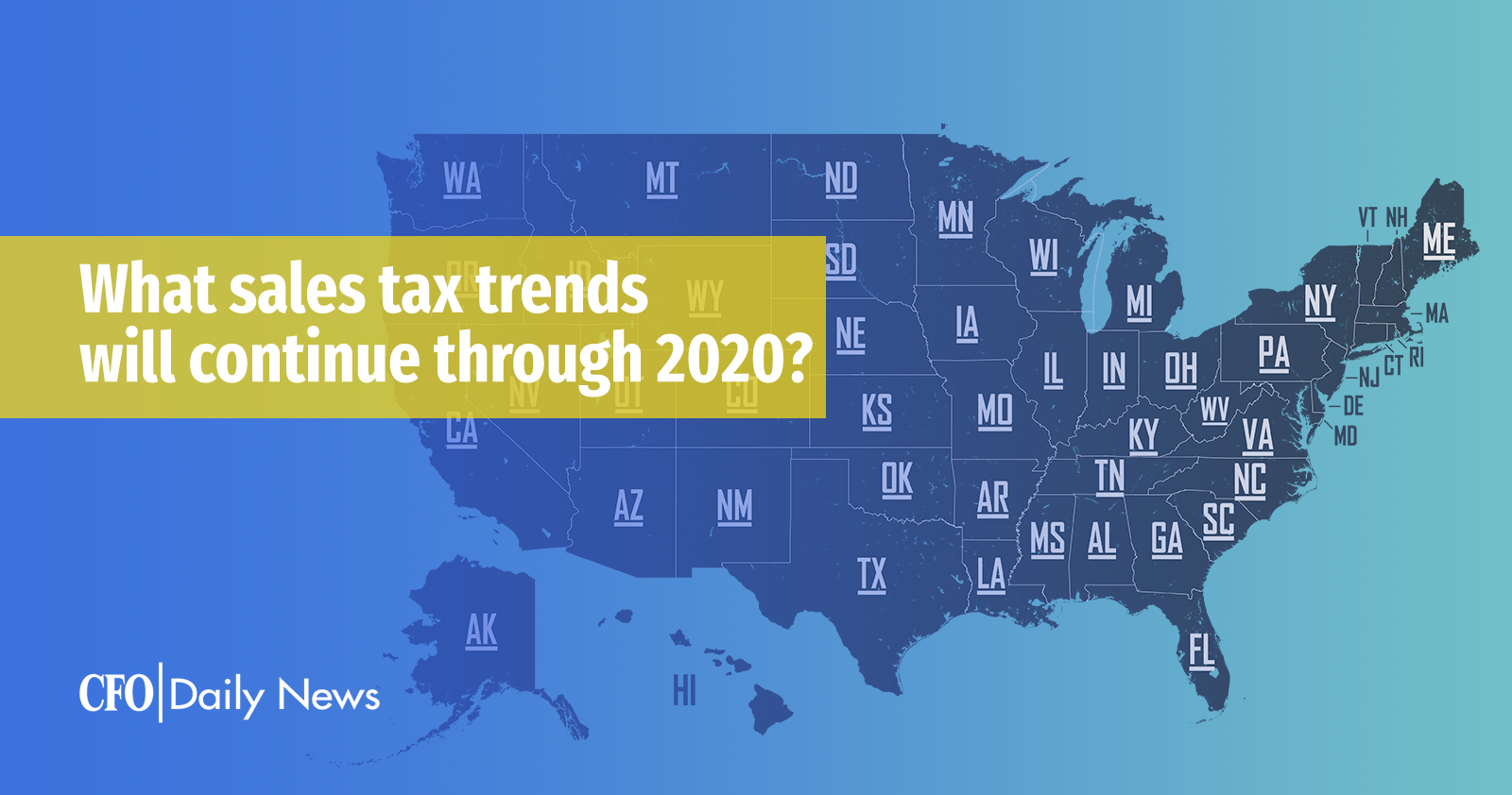 what sales tax trends will continue through 2020