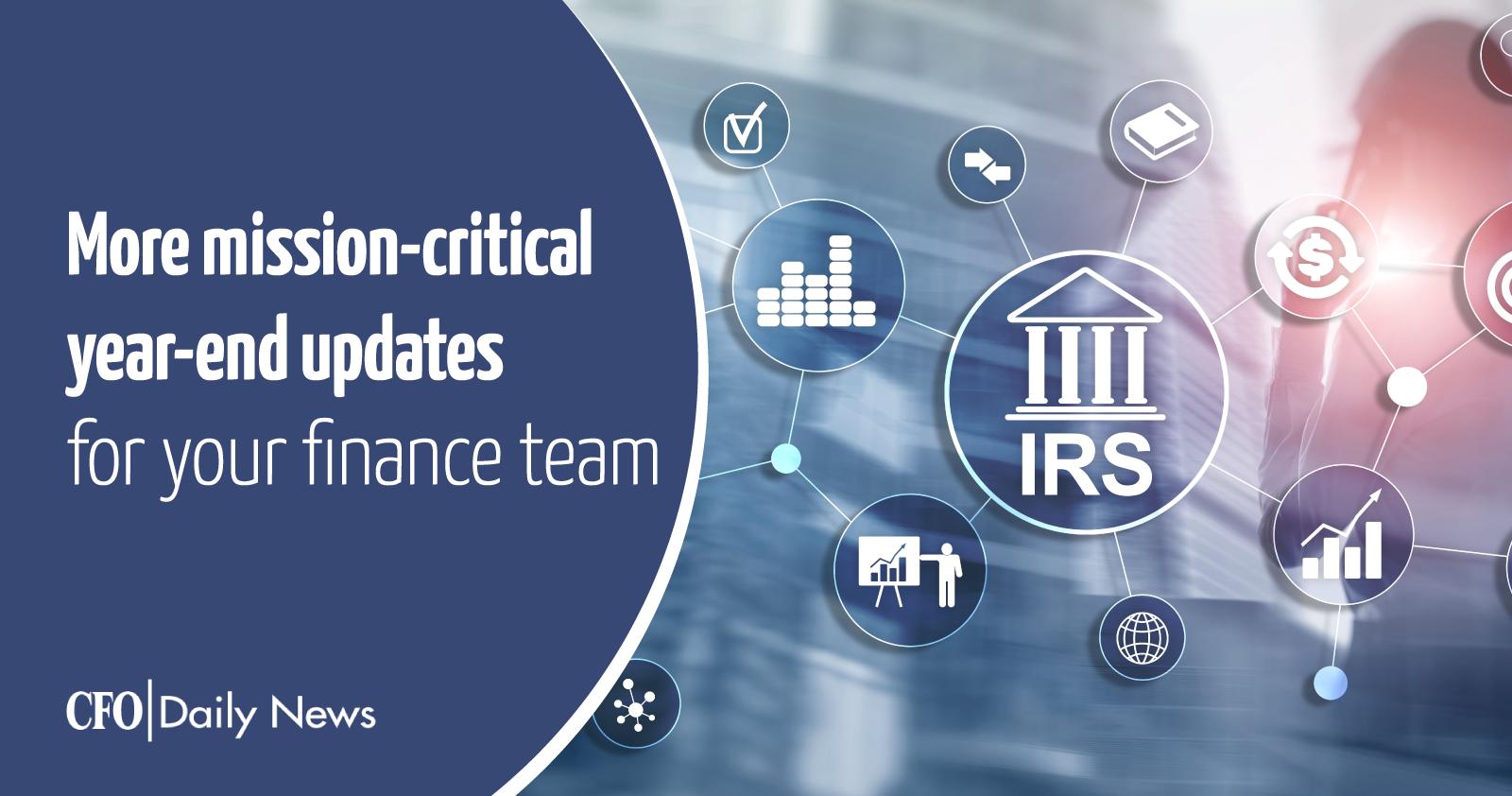 more mission critical year end updates for your finance team
