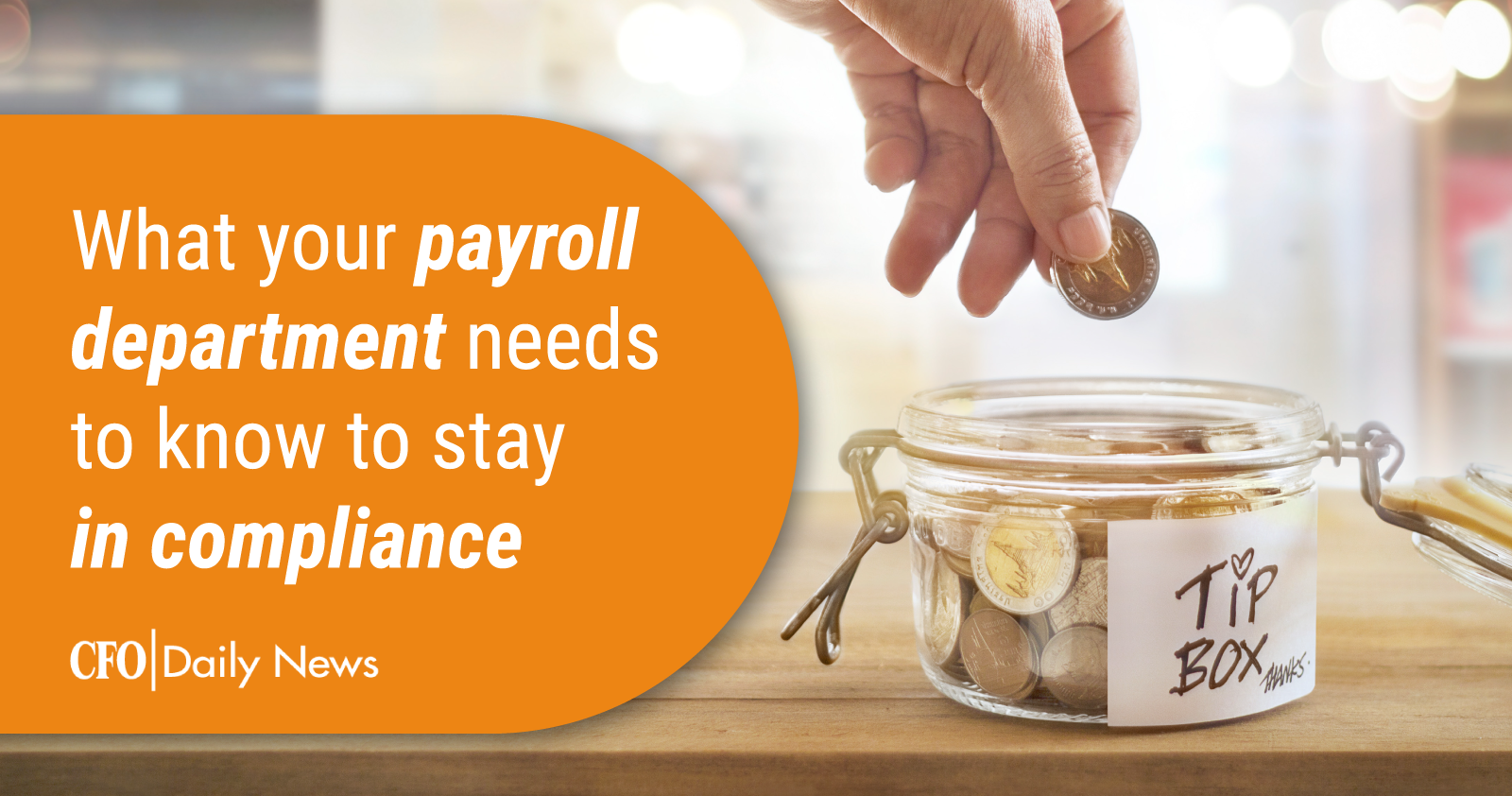 what your payroll department needs to know to stay in compliance