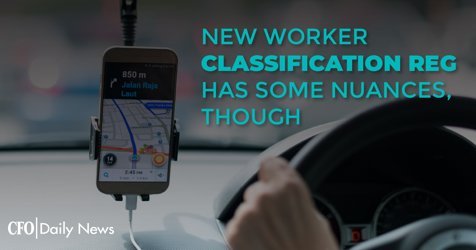 new worker classification reg has some nuances though