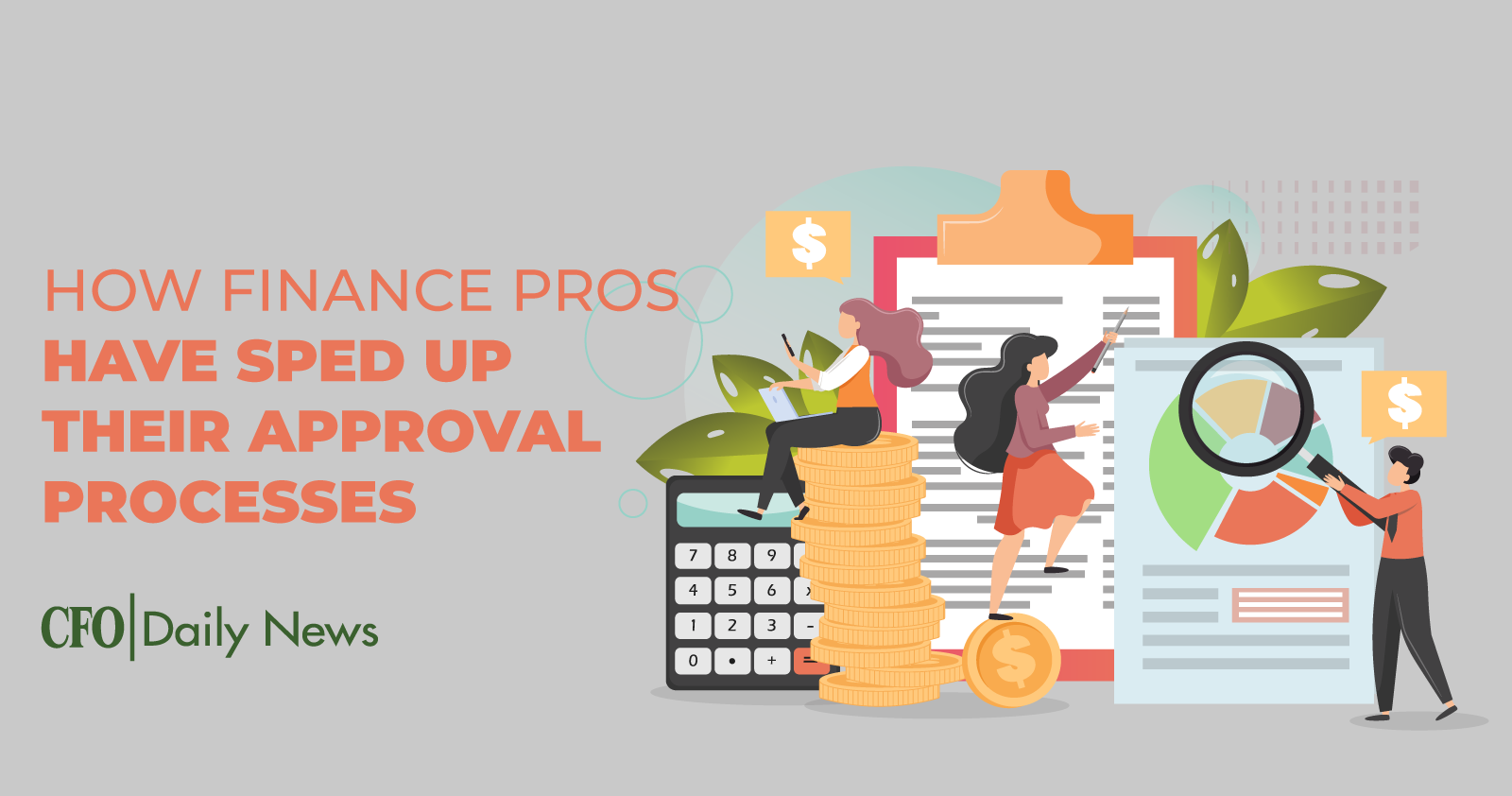 how finance pros have sped up their approval processes
