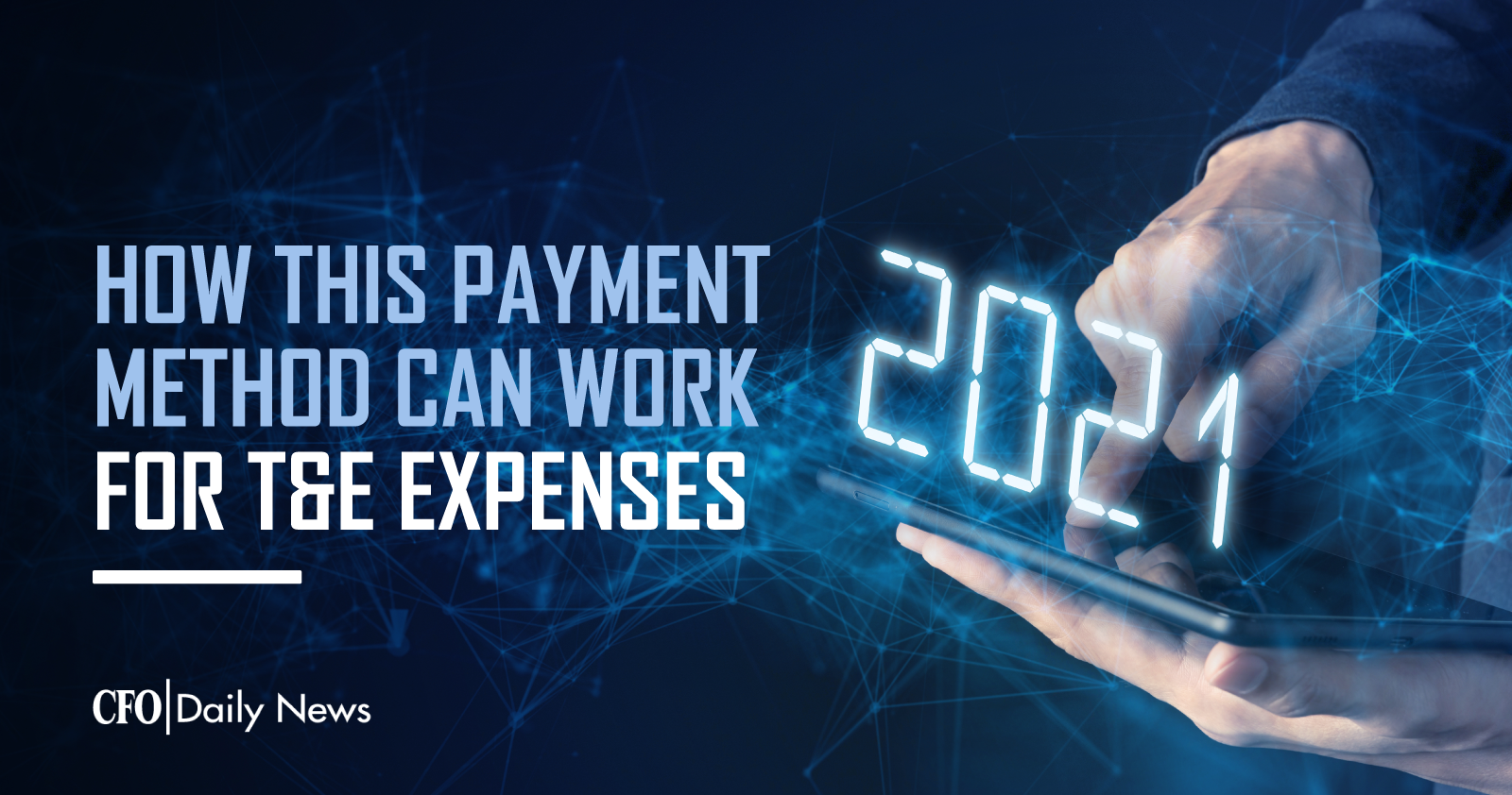 how this payment method can work for t and e expenses
