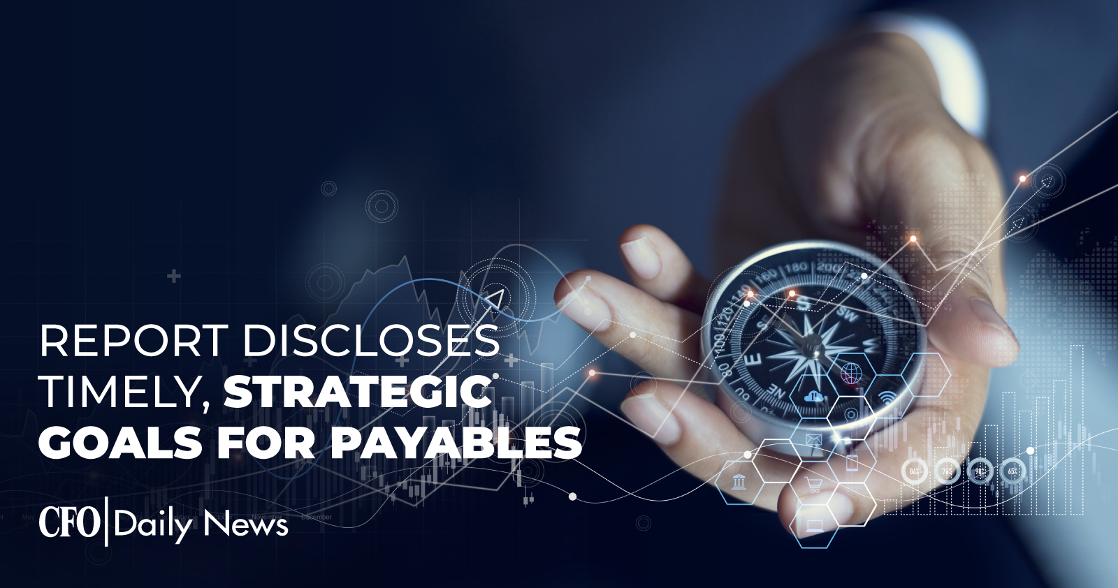report discloses timely strategic goals for payables