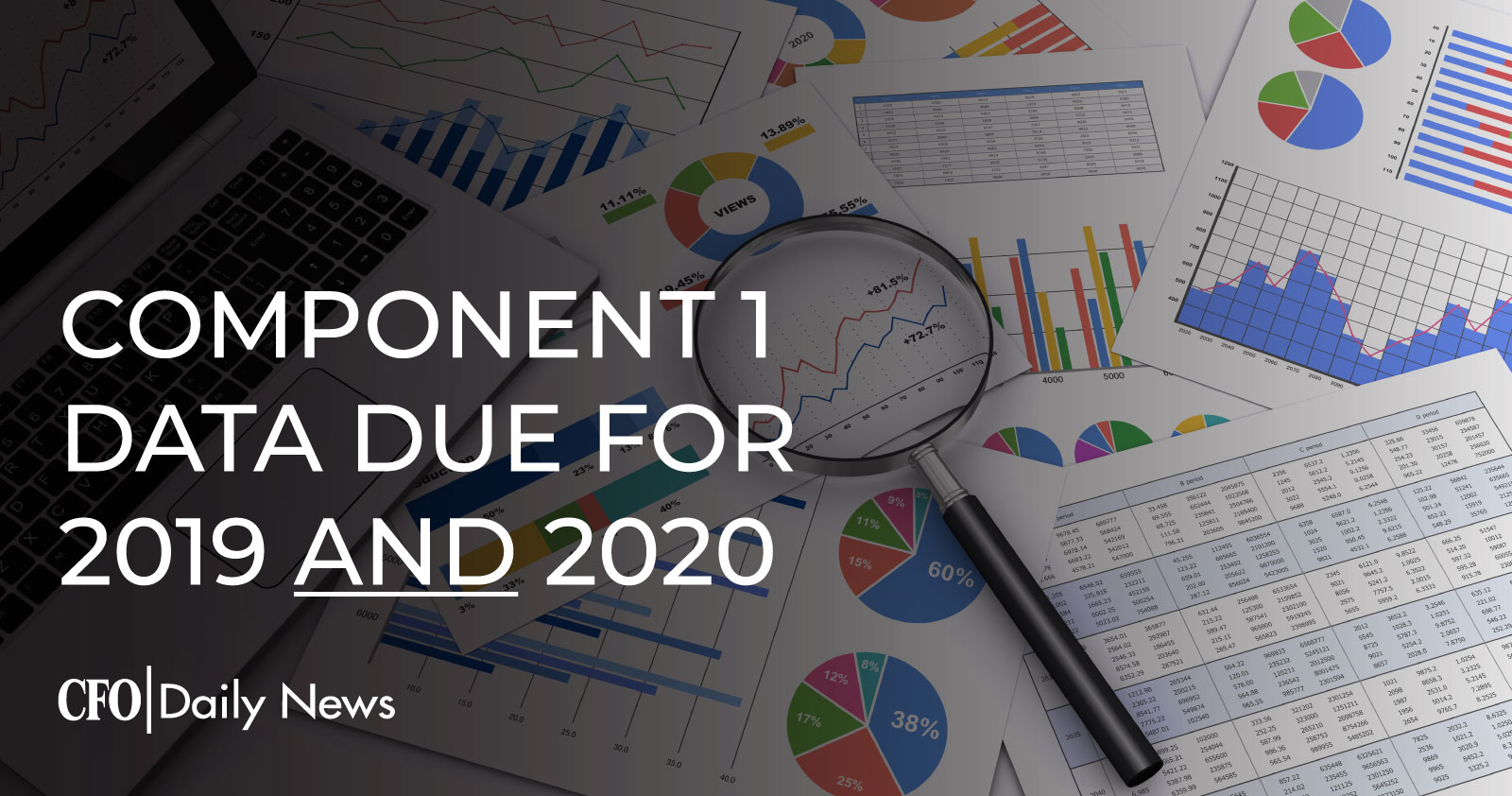 Component 1 Data Due For 2019 And 2020