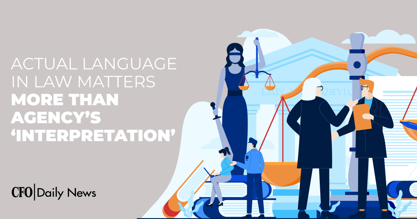 actual language in law matters more than agencys interpretation