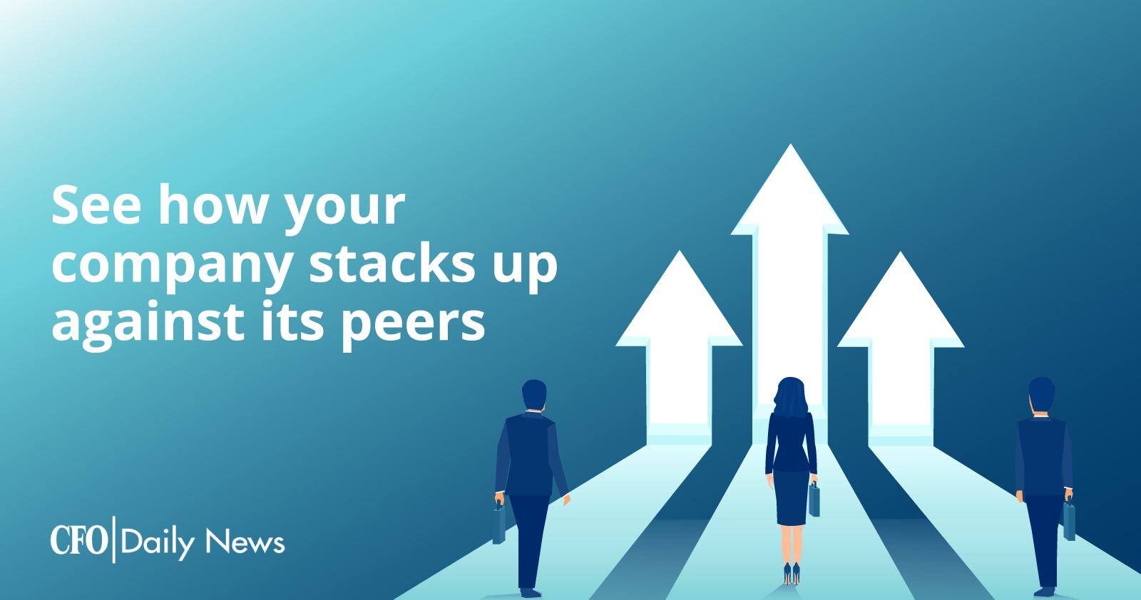 see how your company stacks up against its peers
