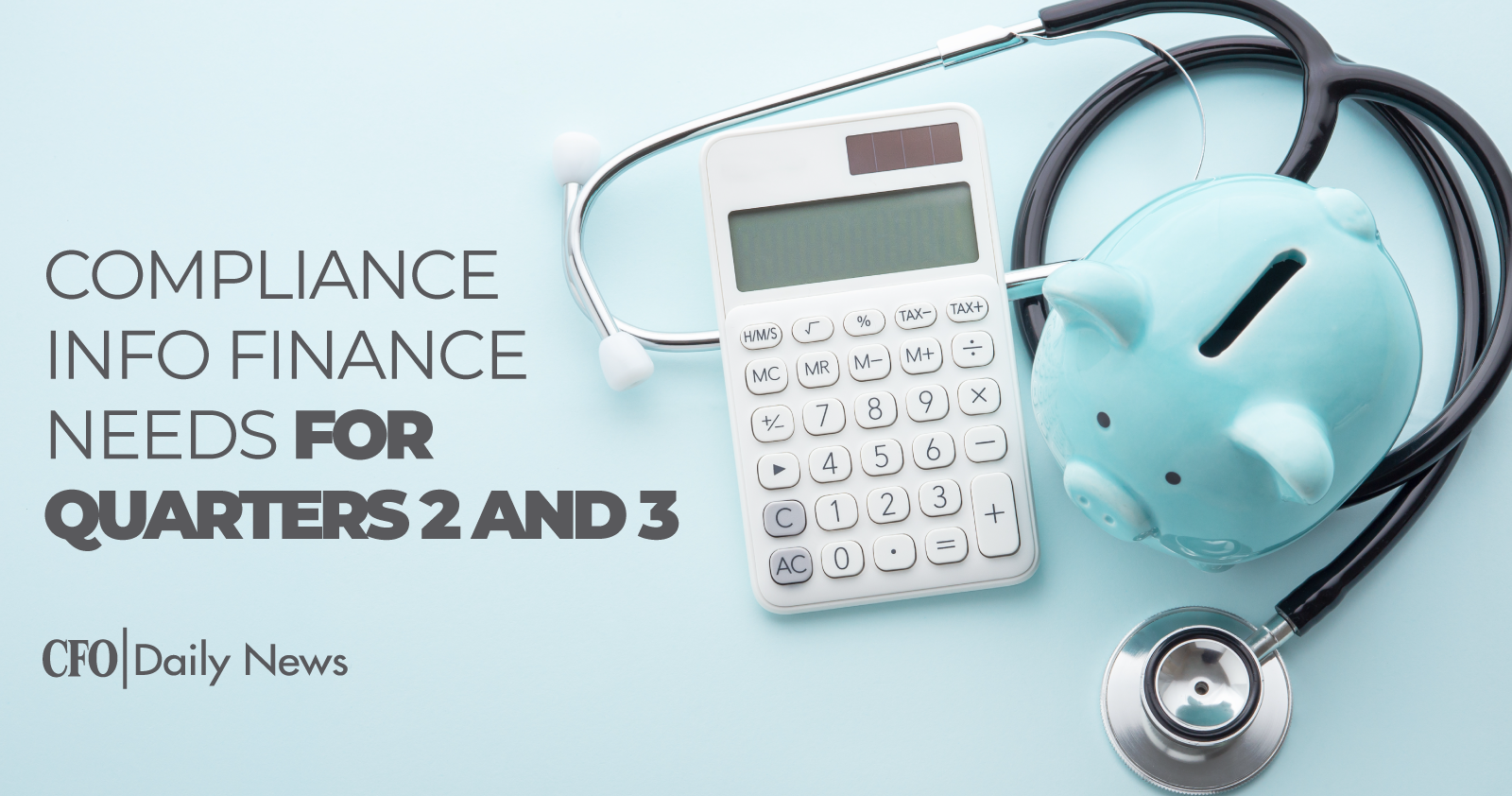 Compliance Info Finance Needs For Quarters 2 and 3