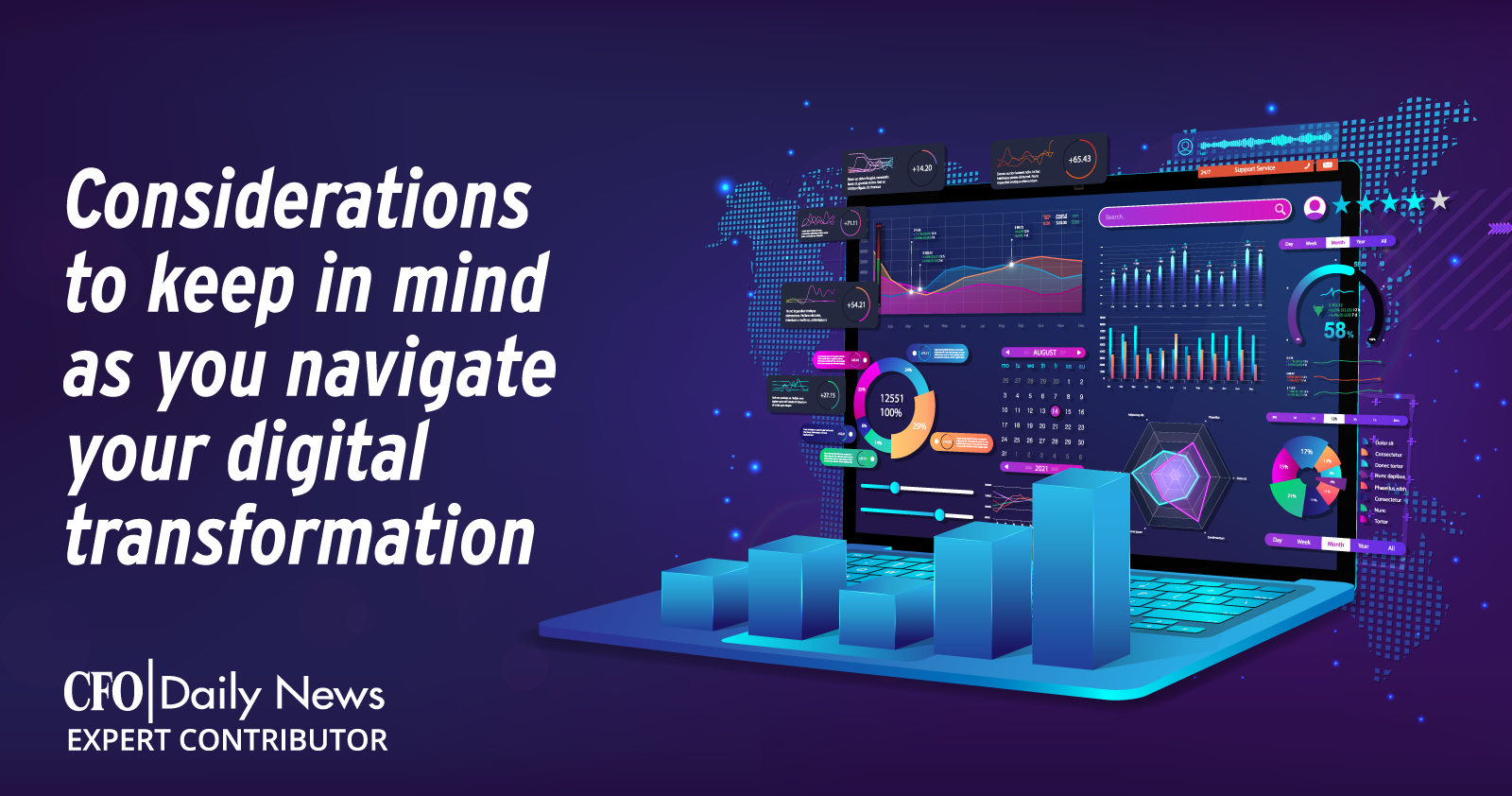 considerations to keep in mind as you navigate your digital transformation