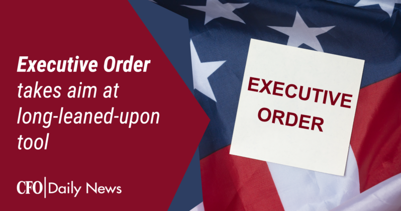 executive order takes aim at long leaned upon tool