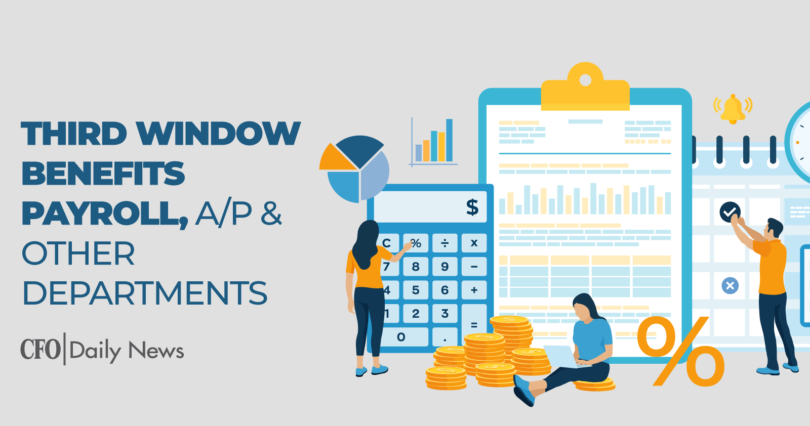 Third Window Benefits Payroll A/P & Other Departments