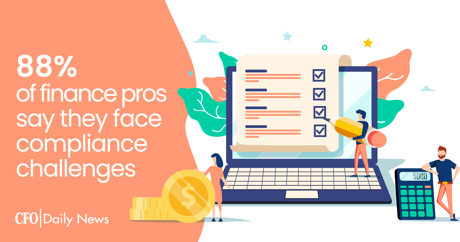 88% Of Finance Pros Say They Face Compliance Challenges