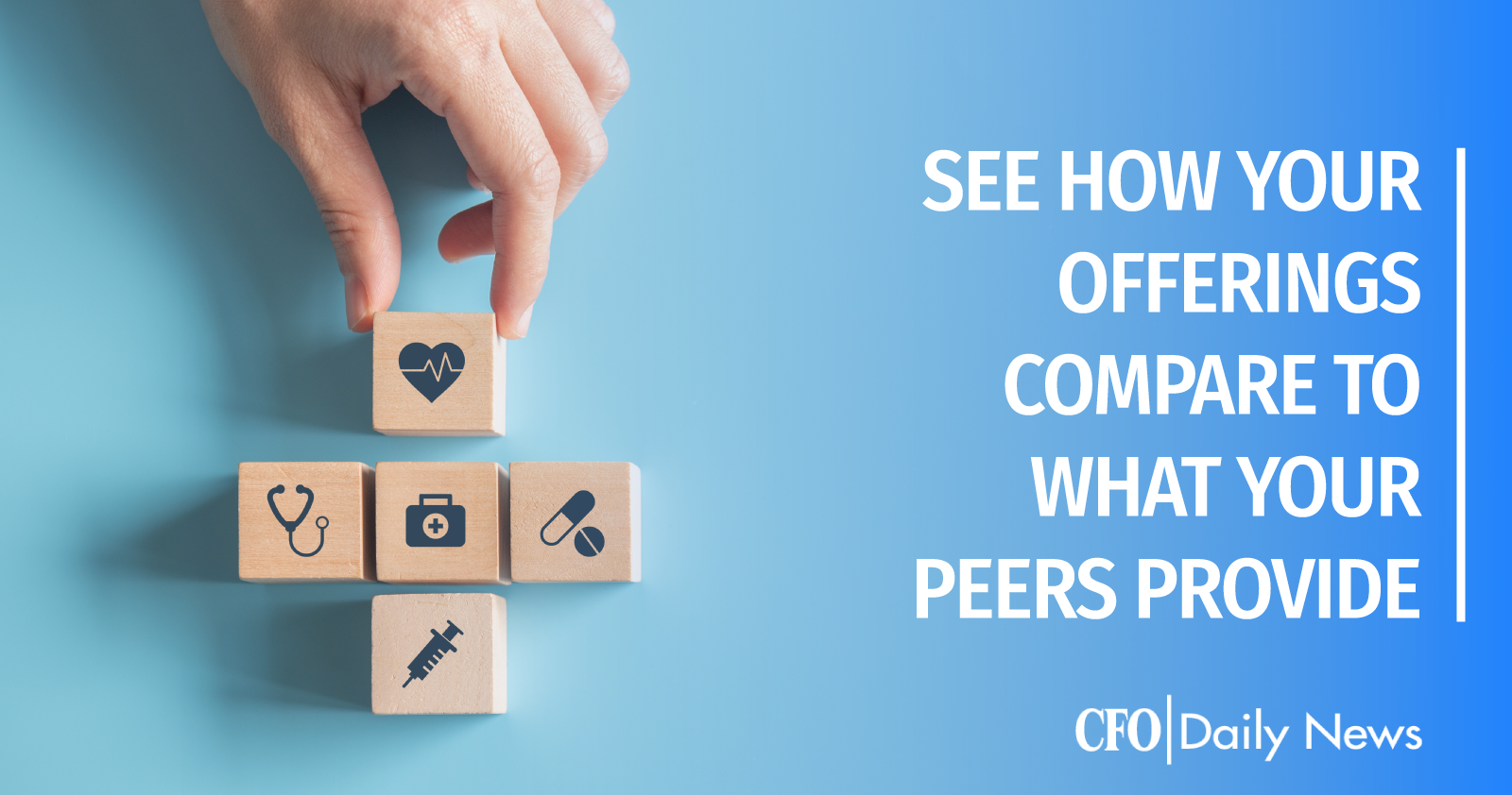 see how your offerings compare to what your peers provide