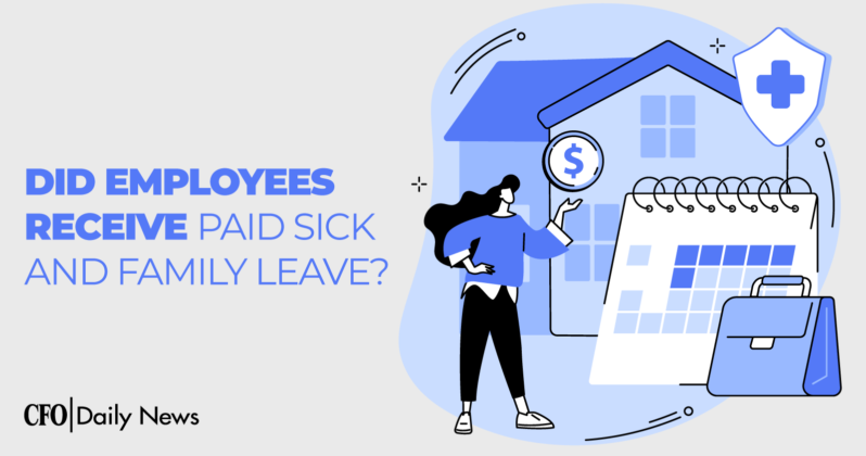 did employees receive paid sick and family leave